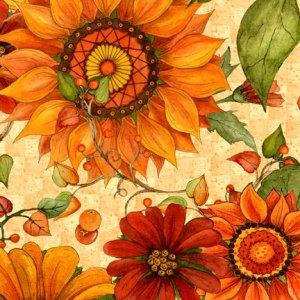 Harvest Home Large Floral WP_76262_287